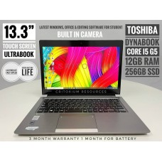 Toshiba Dynabook Touch Screen