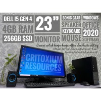 """DELL Optiplex 4GB RAM 240GB SSD 23"""" Screen"""