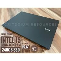 "NEC VERSAPRO i5 GEN 6 4GB RAM 240GB SSD 15.6"""