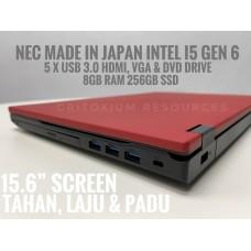 "NEC VERSAPRO i5 GEN 6 8GB RAM 240GB SSD 15.6"""